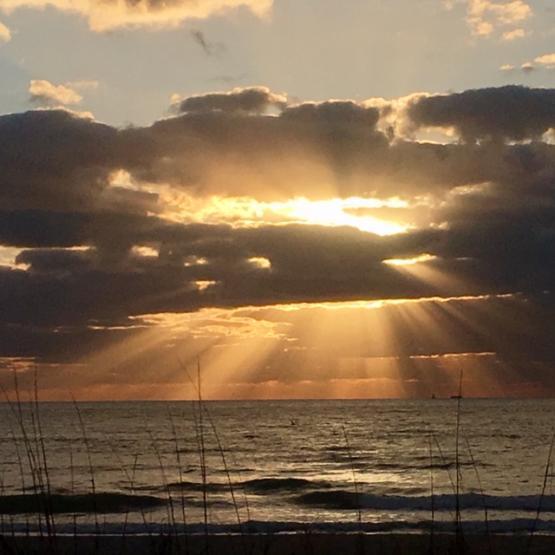 Sunrise-clods