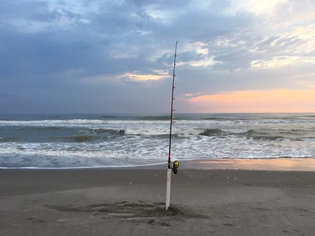 Surf-fishing