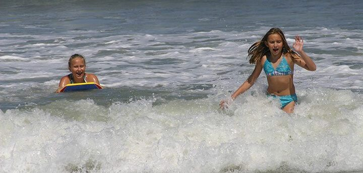 Playing in the Ocean